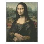 Mona Lisa, c.1503-6 Impresión En Madera