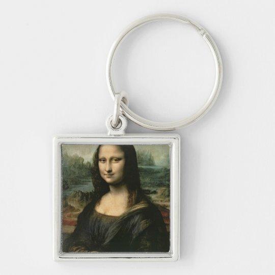 Mona Lisa, c.1503-6 Keychain