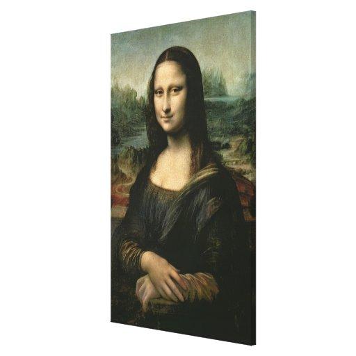 Mona Lisa, c.1503-6 Lienzo Envuelto Para Galerias