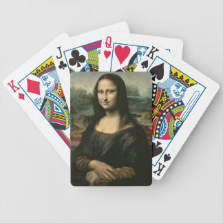 Mona Lisa, c.1503-6 (oil on panel) Bicycle Playing Cards