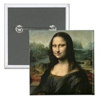 Mona Lisa, c.1503-6 (oil on panel) Button