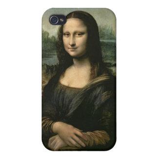 Mona Lisa, c.1503-6 (oil on panel) iPhone 4 Cases