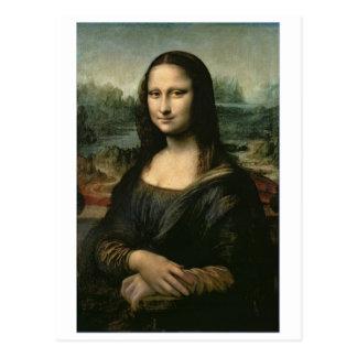 Mona Lisa, c.1503-6 (oil on panel) Postcard