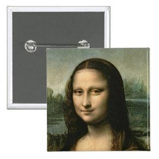 Mona Lisa, c.1503-6 Pinback Button