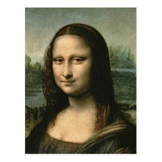 Mona Lisa, c.1503-6 Postcard