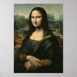 Mona Lisa, c.1503-6 Print