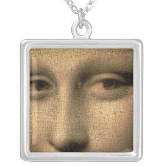 Mona Lisa, c.1503-6 Square Pendant Necklace