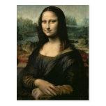 Mona Lisa, c.1503-6 Tarjeta Postal