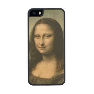 Mona Lisa, c.1503-6 Wood Phone Case For iPhone SE/5/5s