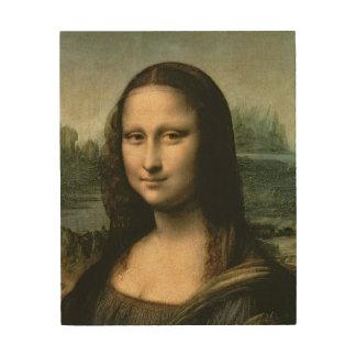 Mona Lisa, c.1503-6 Wood Wall Art