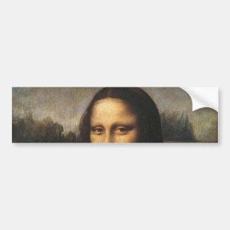 Mona Lisa Pegatina Para Auto