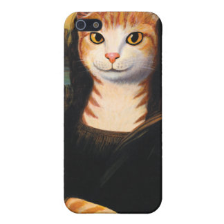 Mona Lisa Cat iPhone SE/5/5s Cover
