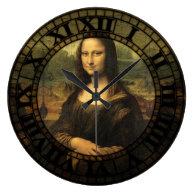 Mona Lisa Clock