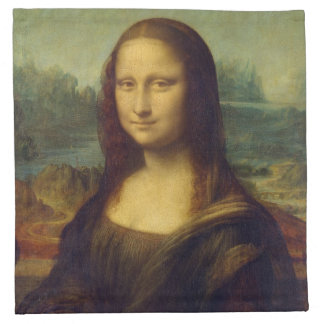 Mona Lisa Cloth Napkin