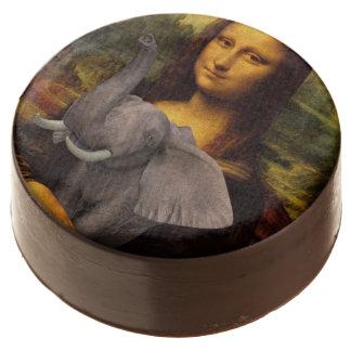 Mona Lisa con el elefante