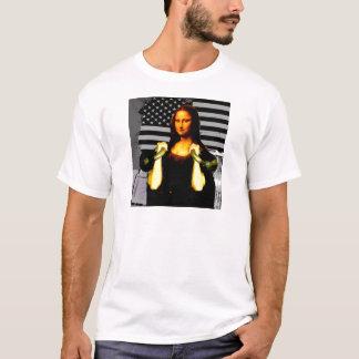 Mona Lisa con KettleBells Playera