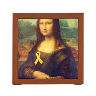 Mona Lisa con la cinta amarilla Portalápices