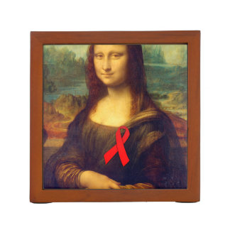Mona Lisa con la cinta roja