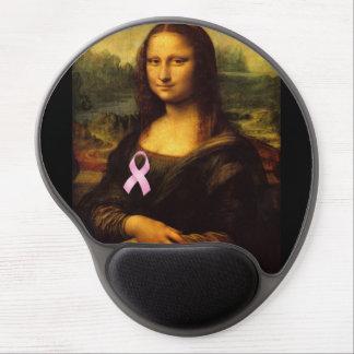 Mona Lisa con la cinta rosada Alfombrilla Gel