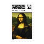 Mona Lisa con los vidrios