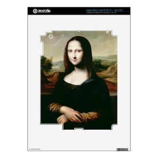 Mona Lisa, copy of the painting by Leonardo da Vin iPad 3 Skin