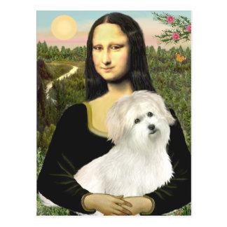 Mona Lisa - Coton de Tulear 7 Post Cards