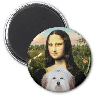 Mona Lisa - Coton De Tulear Magnet