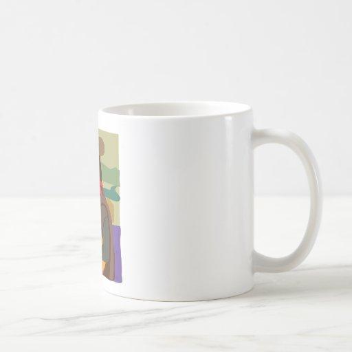 Mona Lisa Cowgirl Classic White Coffee Mug