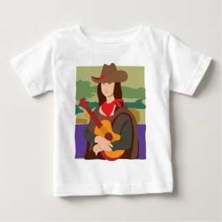 Mona Lisa Cowgirl Tee Shirt