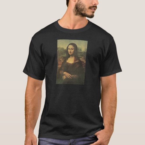 Mona Lisa Dark T_Shirt