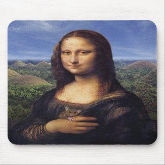 Mona Lisa de Bohol Alfombrillas De Ratón