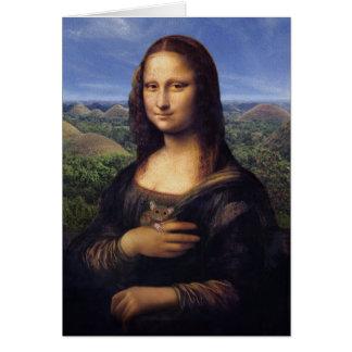 Mona Lisa de Bohol Tarjeta De Felicitación