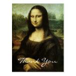 Mona Lisa de da Vinci Tarjetas Postales