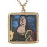 Mona Lisa de Joel Anderson Pendientes