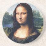 Mona Lisa de Leonardo da Vinci, 1503-1506 Posavaso Para Bebida
