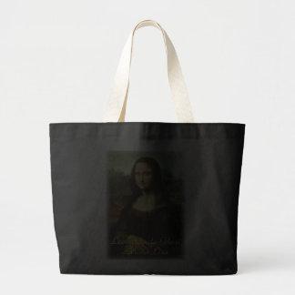 Mona Lisa de Leonardo da Vinci, arte renacentista Bolsa Lienzo