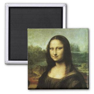 Mona Lisa de Leonardo da Vinci, arte renacentista Imán Cuadrado