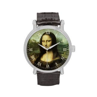 Mona Lisa de Leonardo da Vinci, arte renacentista Reloj De Mano