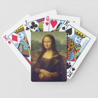 Mona Lisa de Leonardo da Vinci Cartas De Juego