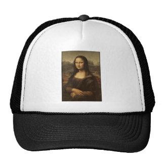 Mona Lisa de Leonardo da Vinci circa 1505-1513 Gorros