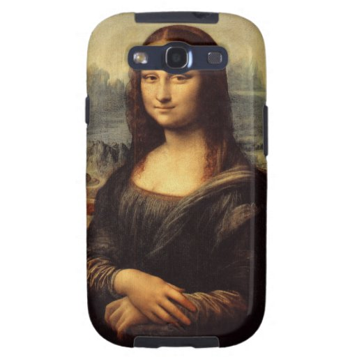 Mona Lisa de Leonardo da Vinci Samsung Galaxy S3 Cárcasa
