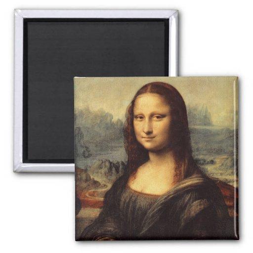 Mona Lisa de Leonardo da Vinci Imanes