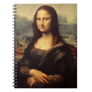 Mona Lisa de Leonardo da Vinci Libro De Apuntes