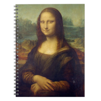 Mona Lisa de Leonardo da Vinci Note Book