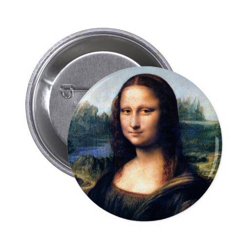 Mona Lisa de Leonardo da Vinci Pins