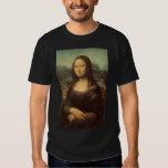 Mona Lisa de Leonardo da Vinci Playeras