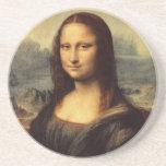 Mona Lisa de Leonardo da Vinci Posavasos Para Bebidas