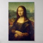 Mona Lisa de Leonardo da Vinci Póster