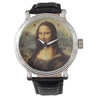 Mona Lisa de Leonardo da Vinci Reloj