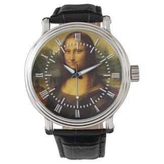 Mona Lisa de Leonardo da Vinci Relojes De Mano